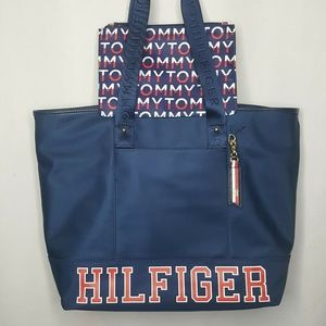 Tommy Hilfiger Tote Purse Shoulder Bag Spellout